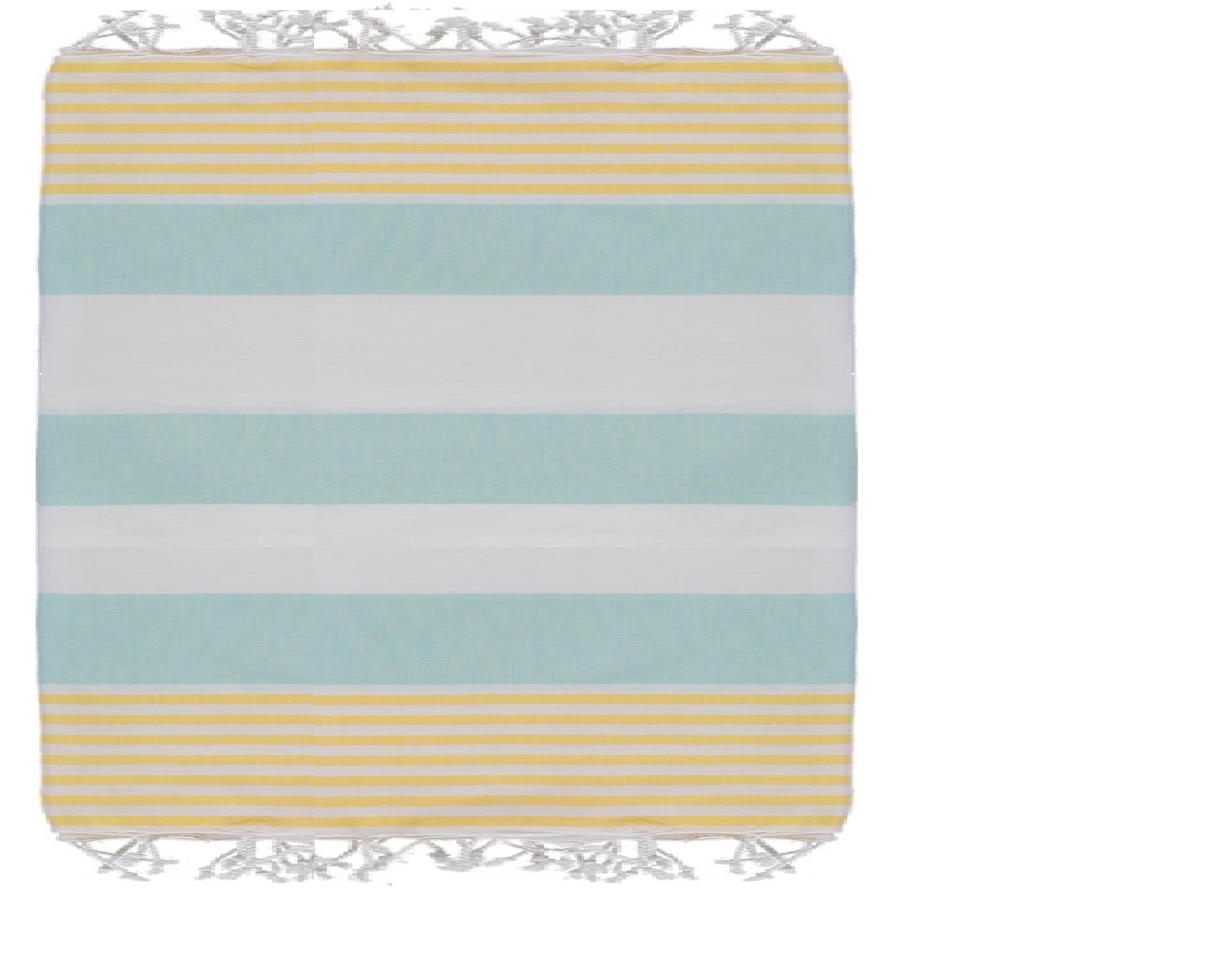 Coastal Colors Mint Yellow and White Blanket – Sun of a Beach Towels